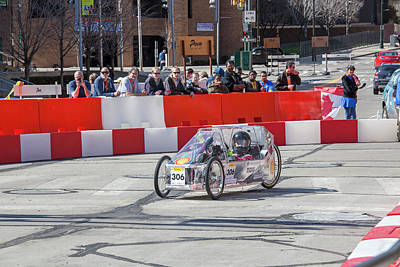 Mechanical Engineering Photograph - Fuel-efficient Vehicle Competition by Jim West