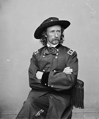 George Custer (1839-1876) Art Print by Granger