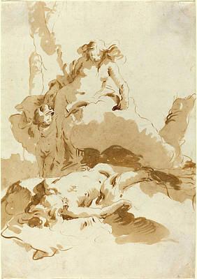 Giovanni Battista Tiepolo, Italian 1696-1770 Art Print