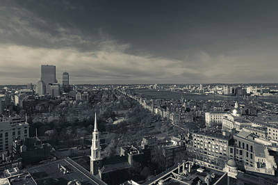High Angle View Of A City Art Print by Panoramic Images