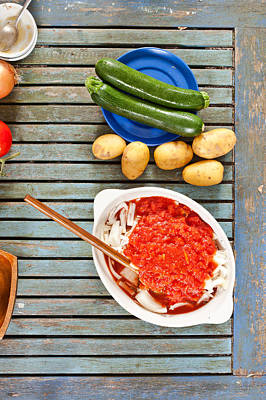 Paste Photograph - Ingredients by Tom Gowanlock