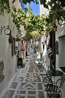 Photograph - Ios Town by George Atsametakis