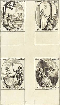 Portal Drawing - Jacques Callot French, 1592 - 1635 by Quint Lox