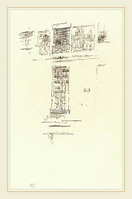 Whistler Drawing - James Mcneill Whistler American, 1834-1903 by Litz Collection