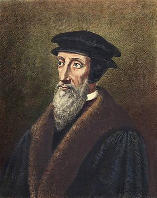 Painting - John Calvin (1509-1564) by Granger