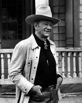 John Wayne Photograph - John Wayne by Retro Images Archive