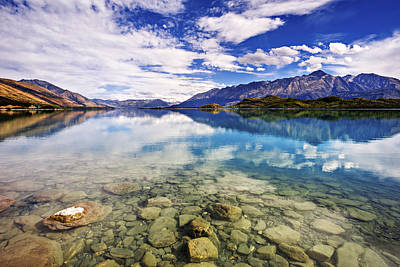Lake Wakatipu Of New Zealand Original by Dr K X Xhori