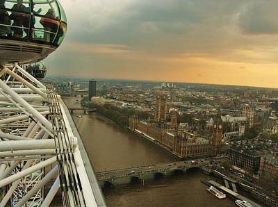 David Bowie - London Eye by Christopher Hoffman