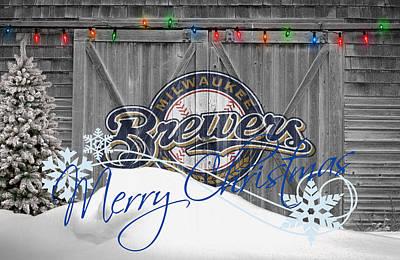 Photograph - Milwaukee Brewers by Joe Hamilton