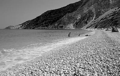 B Photograph - Myrtos Beach by George Atsametakis