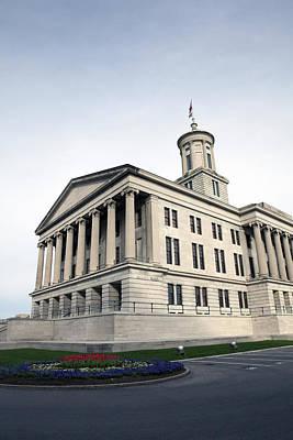 Tennessees Bicentennial History Photograph - Nashville by Karen Cowled