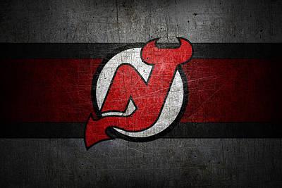Hockey Photograph - New Jersey Devils by Joe Hamilton