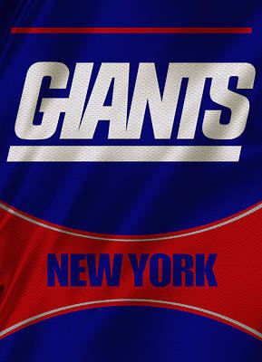 New York Giants Photograph - New York Giants Uniform by Joe Hamilton