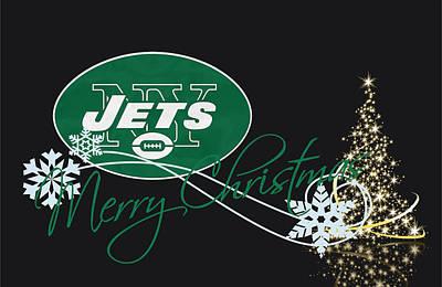 Jets Photograph - New York Jets by Joe Hamilton