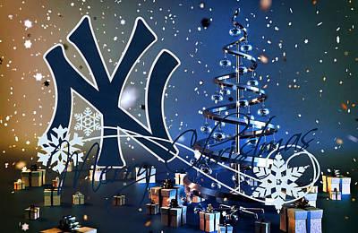 New York Yankees Art Print by Joe Hamilton