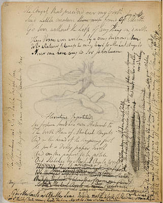 Notebook Of William Blake Art Print by British Library