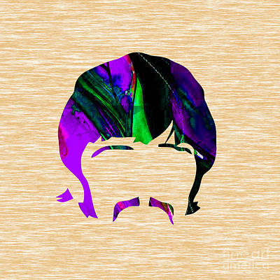 Rock N Roll Mixed Media - Ringo Starr Collection by Marvin Blaine