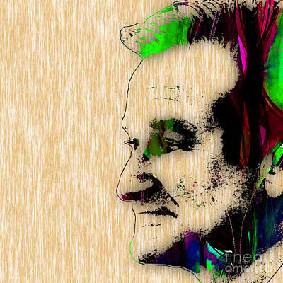Comic Mixed Media - Robin Williams Art by Marvin Blaine