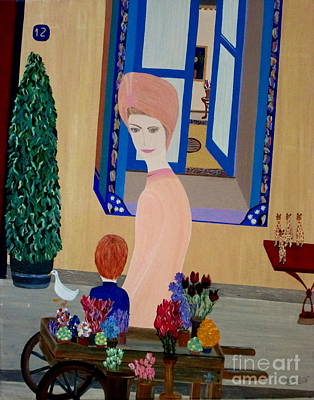 Art Print featuring the painting 12 Rue Cadet by Bill OConnor