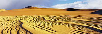 Sand Dunes In A Desert, Great Sand Art Print