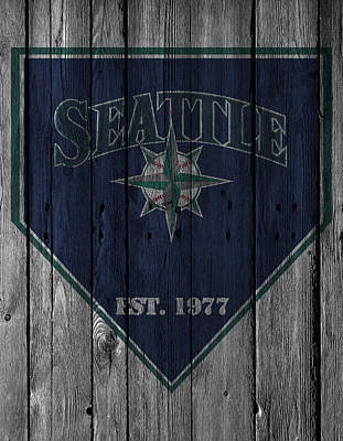 Seattle Mariners Art Print