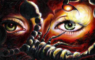 12 Signs Series Scorpio Art Print