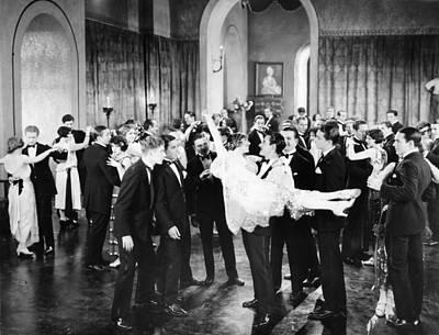 Photograph - Silent Film Still: Parties by Granger