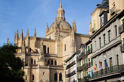 Spain, Castilla Y Leon Region, Segovia Print by Walter Bibikow