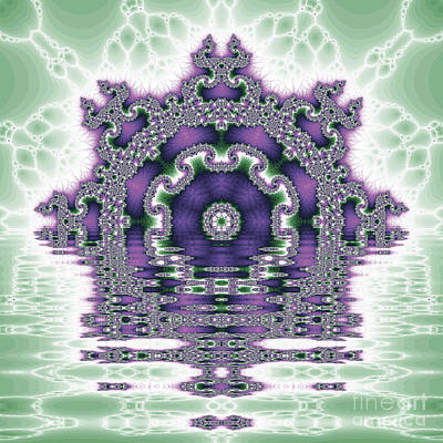The Kaleidoscope Reflections Art Print by Odon Czintos