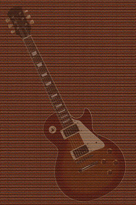 Rock And Roll Royalty-Free and Rights-Managed Images - 12 Thousand Electric guitars 2 by Mike McGlothlen