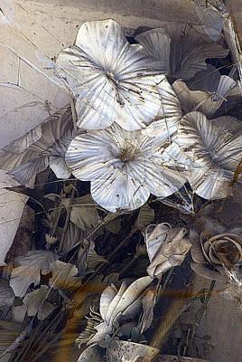 Tijuana Mexico Artificial Flower Arrangement Original by John Hanou