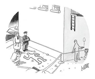 New Yorker December 20th, 2004 Art Print by Glen Le Lievre
