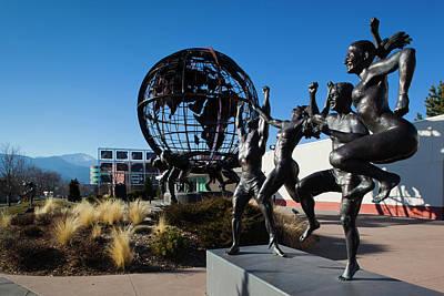 Usa, Colorado, Colorado Springs, United Art Print