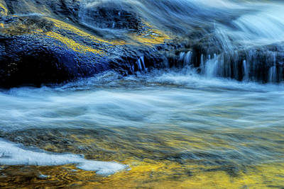 Buttermilk Falls Photograph - Usa, New York, Adirondack Mountains by Jaynes Gallery