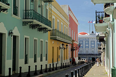 Usa, Puerto Rico, San Juan Art Print by Kymri Wilt