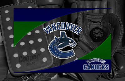 Vancouver Photograph - Vancouver Canucks by Joe Hamilton