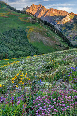 Photograph - Wasatch Mountains Of Utah by Utah Images