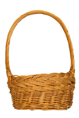 Photograph - Wicker Basket Number One by Olivier Le Queinec
