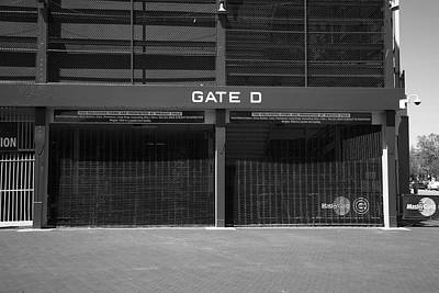 Grate Photograph - Wrigley Field - Chicago Cubs 20 by Frank Romeo