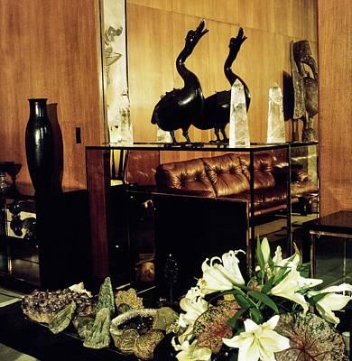 Photograph - Yves Saint Laurent's Living Room by Horst P. Horst