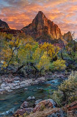 Zion National Park Art Print by Utah Images