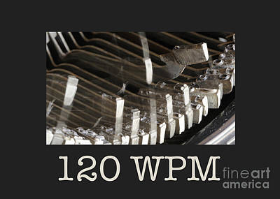 Photograph - 120 Wpm by Nancy Greenland