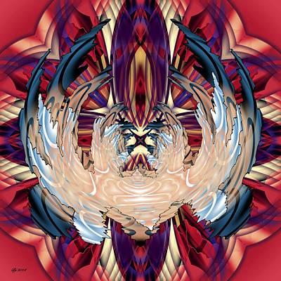 Digital Art - 1200 26 by Brian Johnson