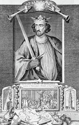 Scot Painting - 1200s 1300s King Edward I Of England by Vintage Images
