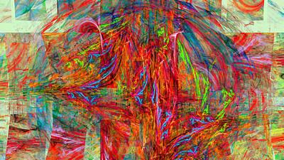 Generative Digital Art - 1236 by Lar Matre
