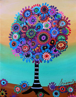 Painting - Tree Of Life by Pristine Cartera Turkus