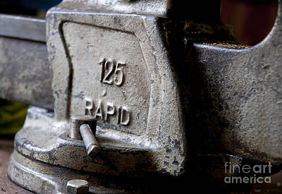 Photograph - 125 Vise by Wilma  Birdwell