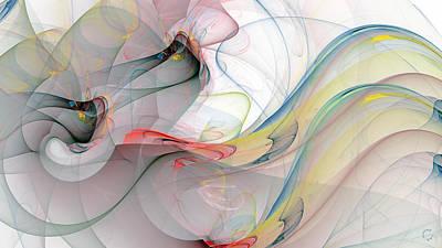 Generative Digital Art - 1255 by Lar Matre