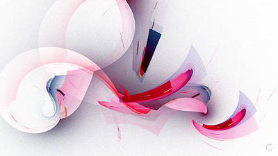 Generative Digital Art - 1264 by Lar Matre