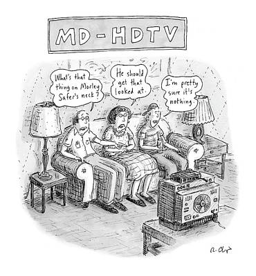 Definition Drawing - Md-hdtv by Roz Chast